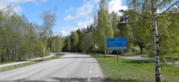 Riksväg 50 Bergslagsdiagonalen skylt