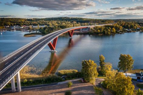 Motala bron Bergslagsdiagonalen